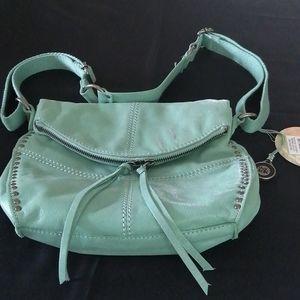 NWT ,The Sak, crossbody or shoulder leather purse